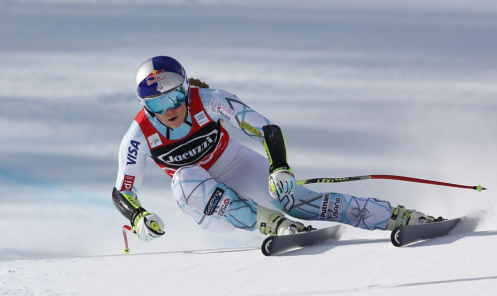Lindsey Vonn 2016 © Kraft Foods Europe Services GmbH / GEPA pictures Thomas Bachun