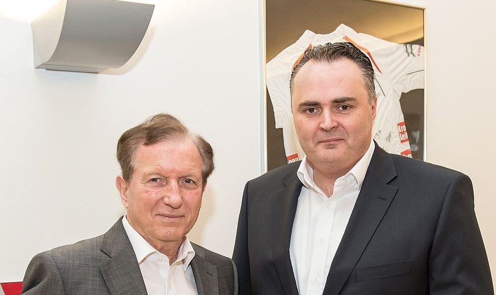 BSO Präsident Herbert Kocher bei Sportminister Hans Peter Doskozil © BSO/HAGENpress