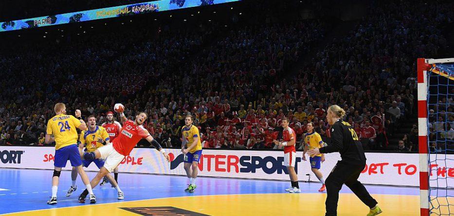 Dänemark vs. Schweden © FRANCE HANDBALL 2017