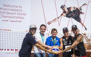 WienTourismus wirbt bei Saisonauftakt in Florida für Beach-Heim-WM
