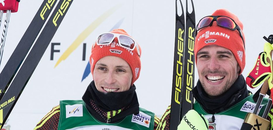 Nordische Ski-WM in Lahti 2017, Eric Frenzel und Johannes Rydzek © Katri Vauhkonen / LAMK