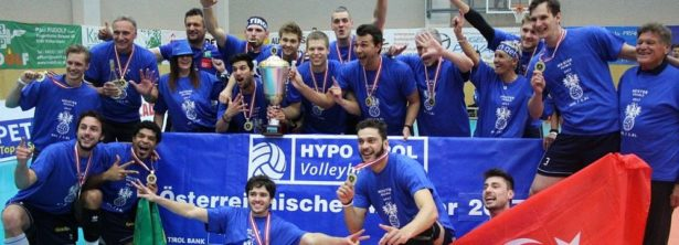 HYPO TIROL Volleyballteam, DenizBank AG Volley League Men-Champion 2017 © SK Posojilnica Aich/Dob