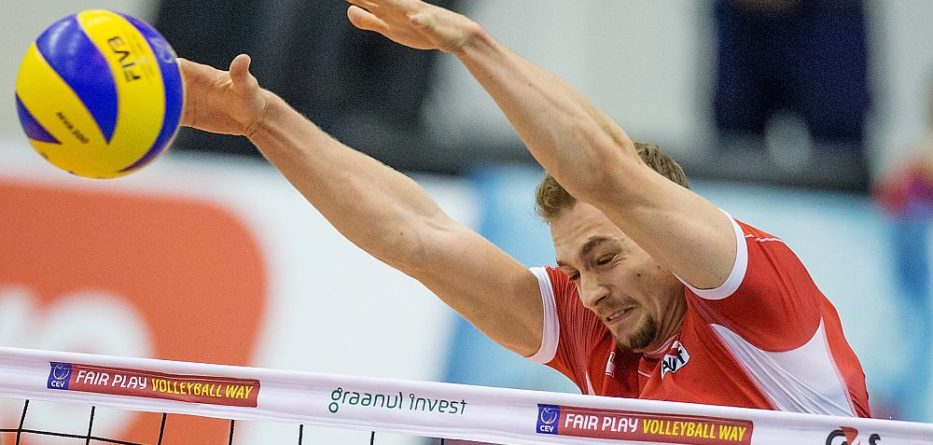 ÖVV-Nationalteam, Alex Berger 2016 © CEV