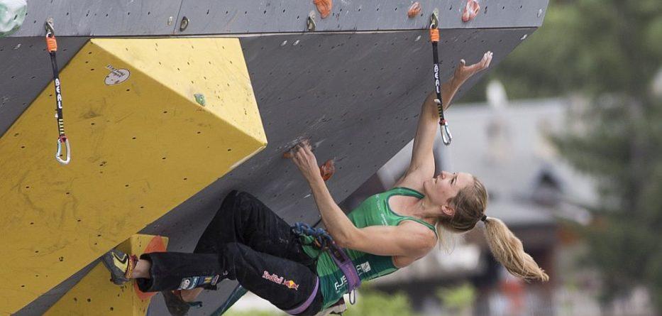 World Games-Teilnehmerin Jessica Pilz beim Weltcup 2016 in Briancon © Heiko Wilhelm / ASP / Red Bull Content Pool