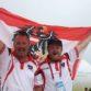 Das Boccia-Duo Günther Baur und Philipp Wolfgang erkämpfte am vierten Wettkampftag der X. World Games in Breslau die erste Medaille für Rotweißrot © BSO/Siami