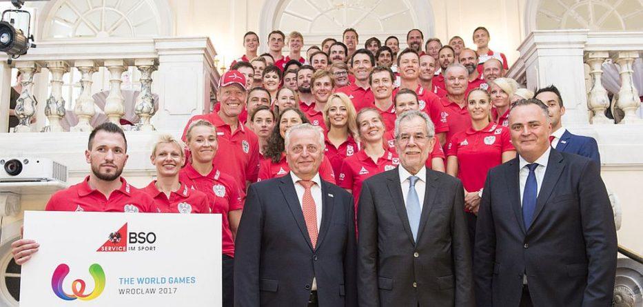 World Games Team 2017 © BSO/Leo Hagen