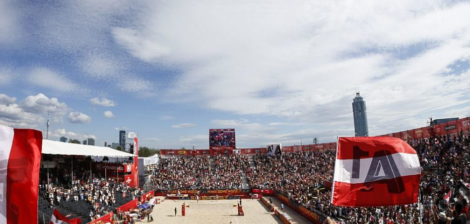 FIVB World Championships 2017 presented by A1 auf der Wiener Donauinsel 2017 © FIVB
