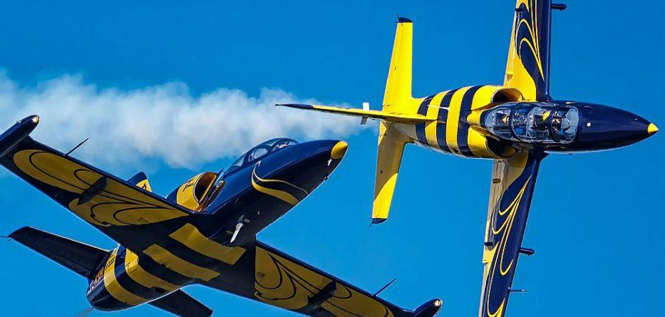 Austrian AIRFEST © Baltic Bees Jet Team