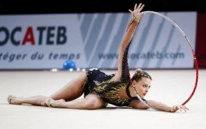 Ruprecht Achte des Gymnastik-Grand-Prix von Israel