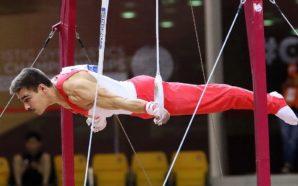 Höck Ringe-14. und Schwab Reck-15. des Weltcups in Baku