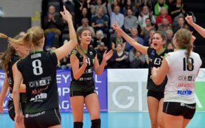 Grazerinnen im CEV-Cup-Achtelfinale! Aich/Dob out