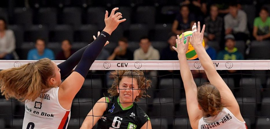 UVC Holding Graz - Sliedrecht Sport 2018 © CEV