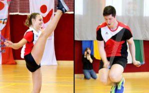 Hann und Blümel sind Rope-Skipping-Meister