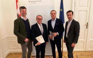 Treffen zwischen Finanz- u. Sportminister Müller und Sportpräsident Niessl