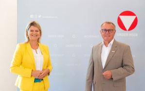 Verteidigungsministerin Tanner und Sport Austria-Präsident Niessl stimmen sich ab