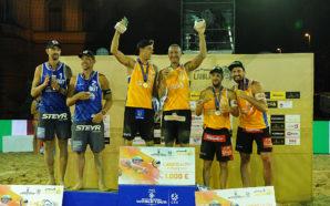Silber und Bronze für ÖVV-Teams in Ljubljana